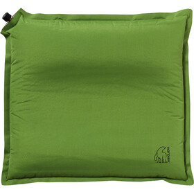 Nordisk Morgen Pillow, green/black